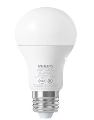 Умная лампочка Xiaomi Philips Smart Led Bulb E27 (GPX4005RT)