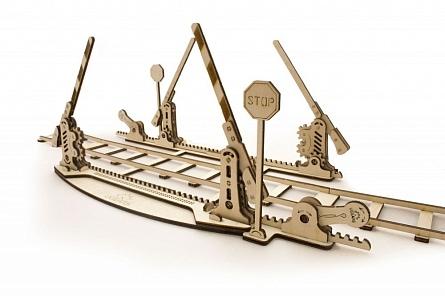 3D-пазл UGears Переезд (Rails)