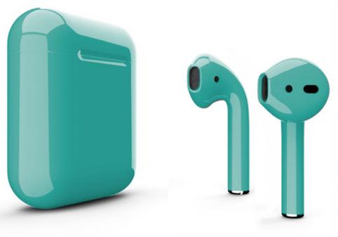 Беспроводные наушники Apple AirPods Color (Gloss Tiffany)