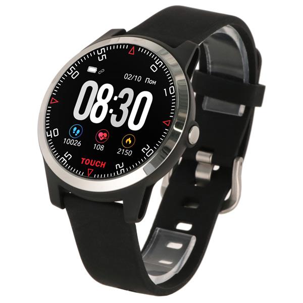 Смарт часы Krez Conga, black