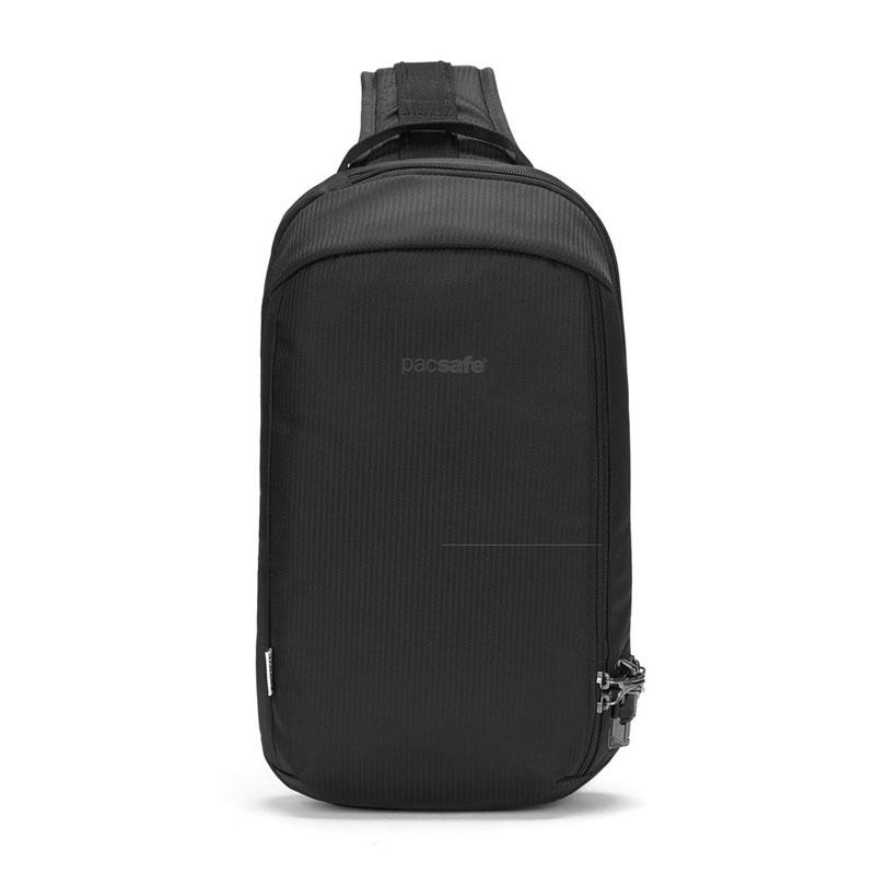Сумка антивор Pacsafe Vibe 325 sling, черный ECONYL, 10 л.