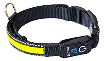 Ошейник для собак Tractive LED Dog Collar