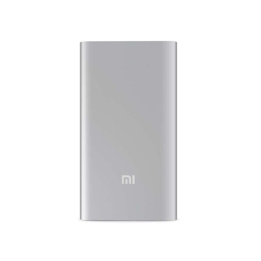 Внешний аккумулятор Power Bank Xiaomi Mi Power 2 Slim 5000 mAh (VXN4236GL) серебристый GLOBAL