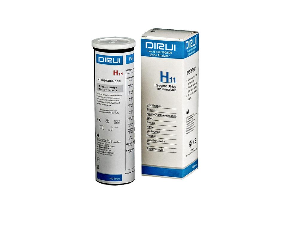 Тест-полоски DIRUI H11