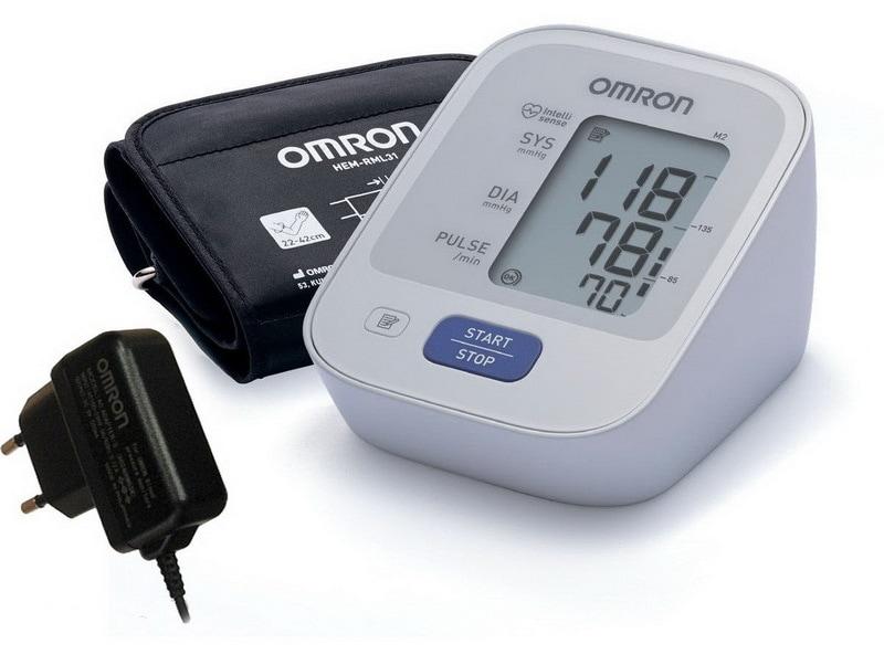 Тонометр OMRON M2 Basic Адаптер+Универсальная манжета (HEM-7121-ALRU)