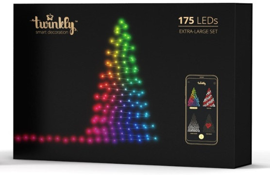 Smart-гирлянда Twinkly (TWS175STP-BEU) (175 LED-лампочек)