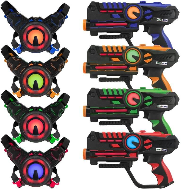 Игровой набор для 4-х игроков Лазертаг ArmoGear