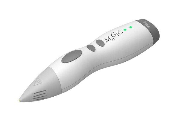 Печатающая 3D-ручка KREZ Magic P3D09 (Серая)