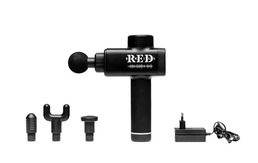 Беспроводной перкуссионный вибромассажер для восстановления мышц RED Skill