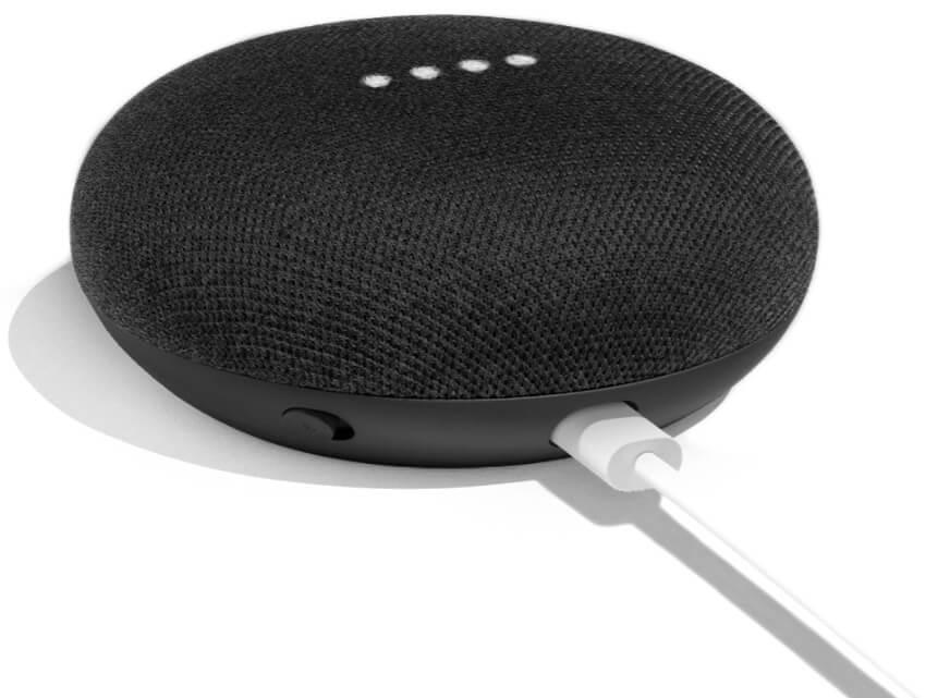 Умная колонка Google Home Mini (Black)
