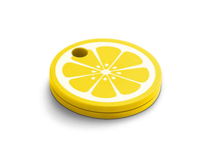 Поисковый трекер Chipolo Classic Fruit Edition 2nd Gen Лимон