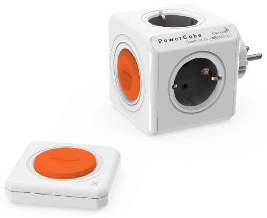 Сетевой разветвитель Allocacoc PowerCube Original Remote Set 1510/EUORRM (White)