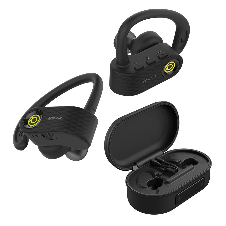 Rowkin Surge Charge – беспроводные спортивные наушники с портативным зарядным устройством