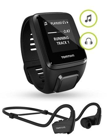 Спортивные часы TomTom Spark 3 Cardio + Music + Bluetooth Headphones