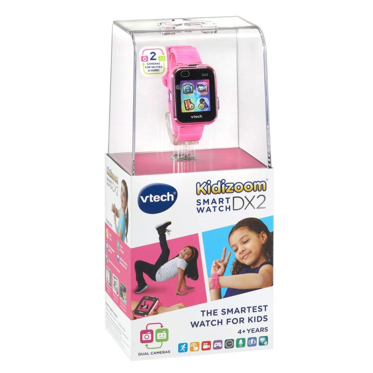 Детские наручные часы Kidizoom SmartWatch DX2 Pink (уценка, вскрытая коробка)
