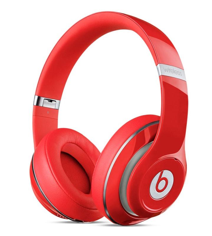 Наушники Beats Studio 2 Wireless Over-Ear (Цвет: красный)