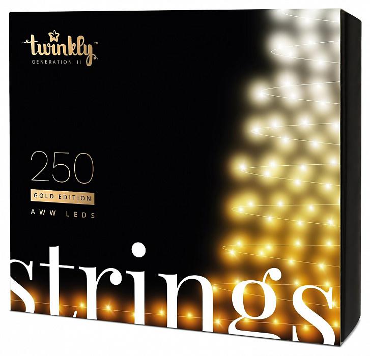 Smart-гирлянда Twinkly Strings AWW 250 (TWS250GOP-BEU)