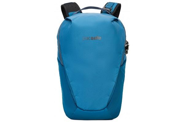 Рюкзак антивор Pacsafe Venturesafe X18, темно-синий, 18 л.