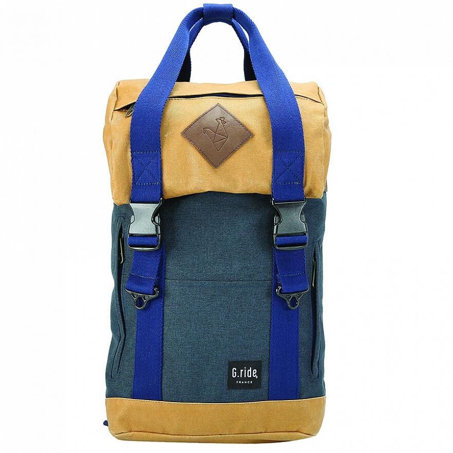 """Рюкзак G.Ride Arthur для ноутбука 15"""" синий / коричневый (GRISIART26)"""