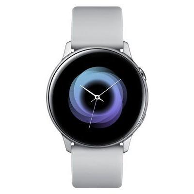 Смарт-часы Samsung Galaxy Watch Active, серебристый лед