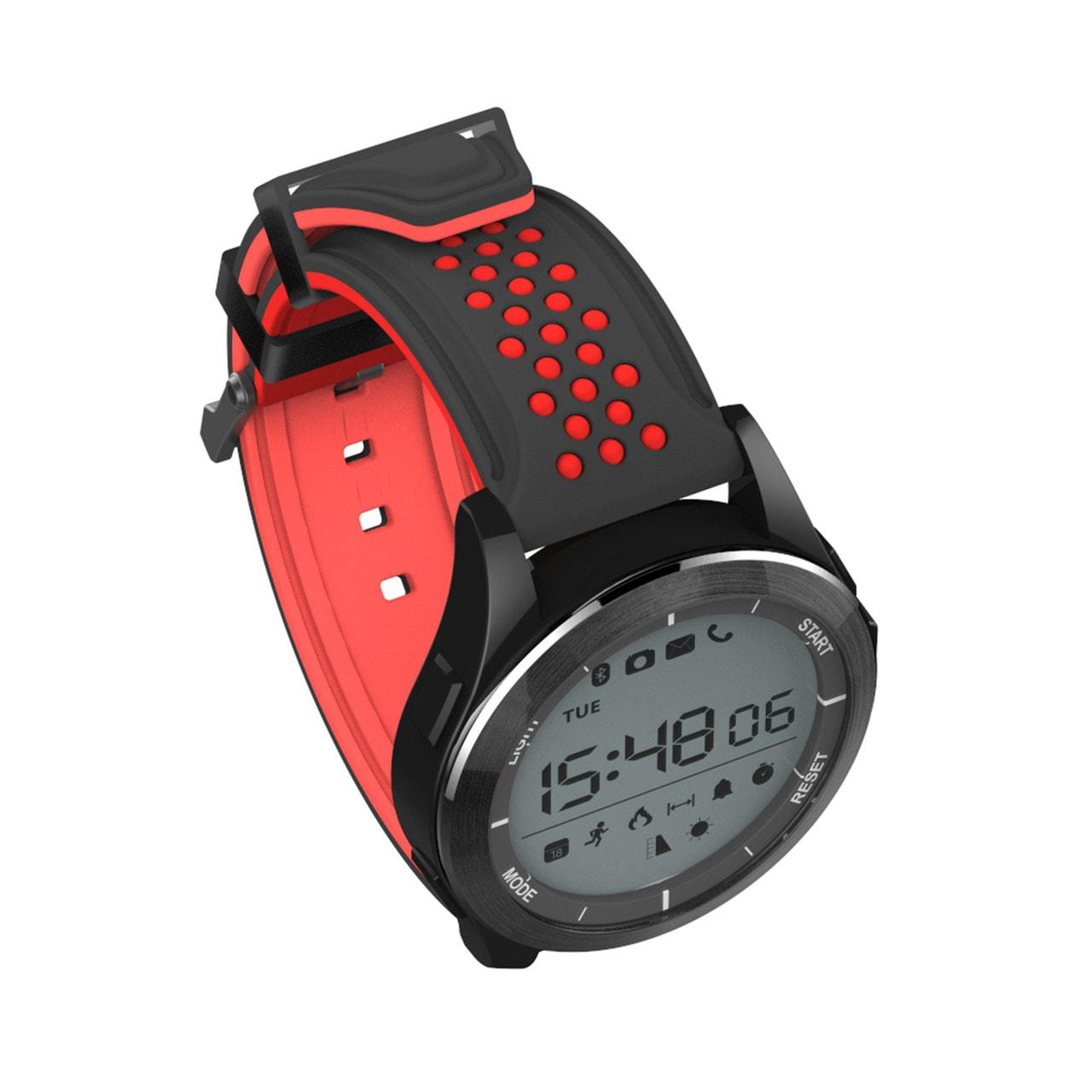 Спортивные умные часы NO.1 F3 черно-красные