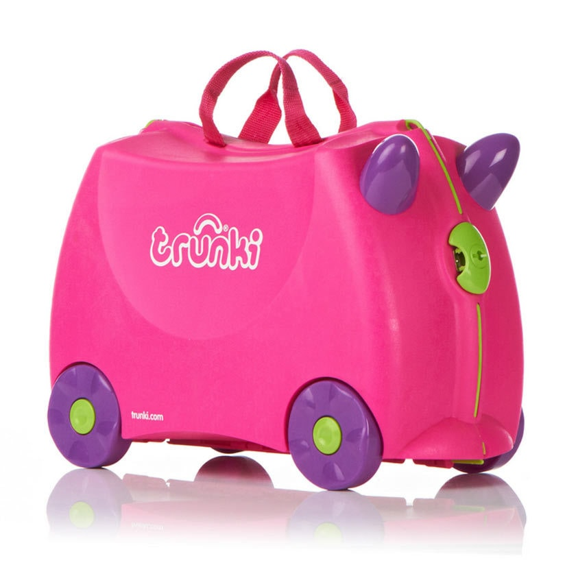 Чемодан на колесиках Trixie, розовый Trunki