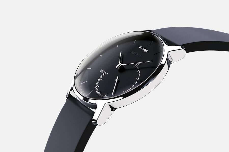 Часы-трекер активности Withings Activite Steel Black