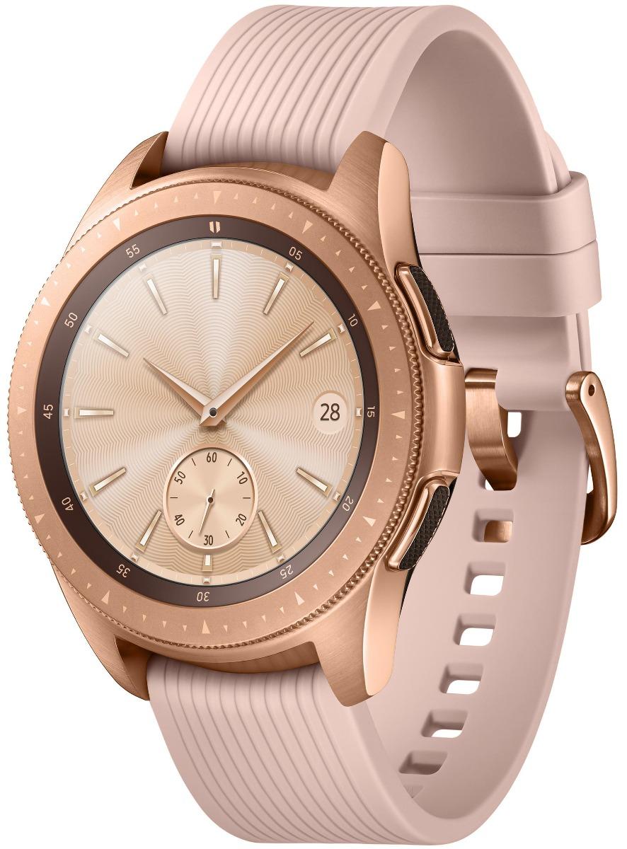 Умные часы Samsung Galaxy Watch 42 mm (SM-R810NZDASER) Розовое золото