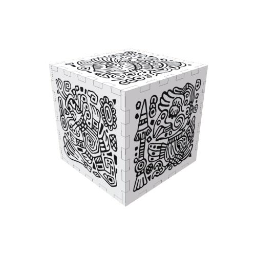 Игрушка Кубик с дополненной реальностью QUBI IG0278 Beige