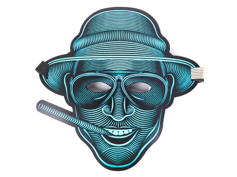 Cветовая маска с датчиком звука GeekMask Vegas