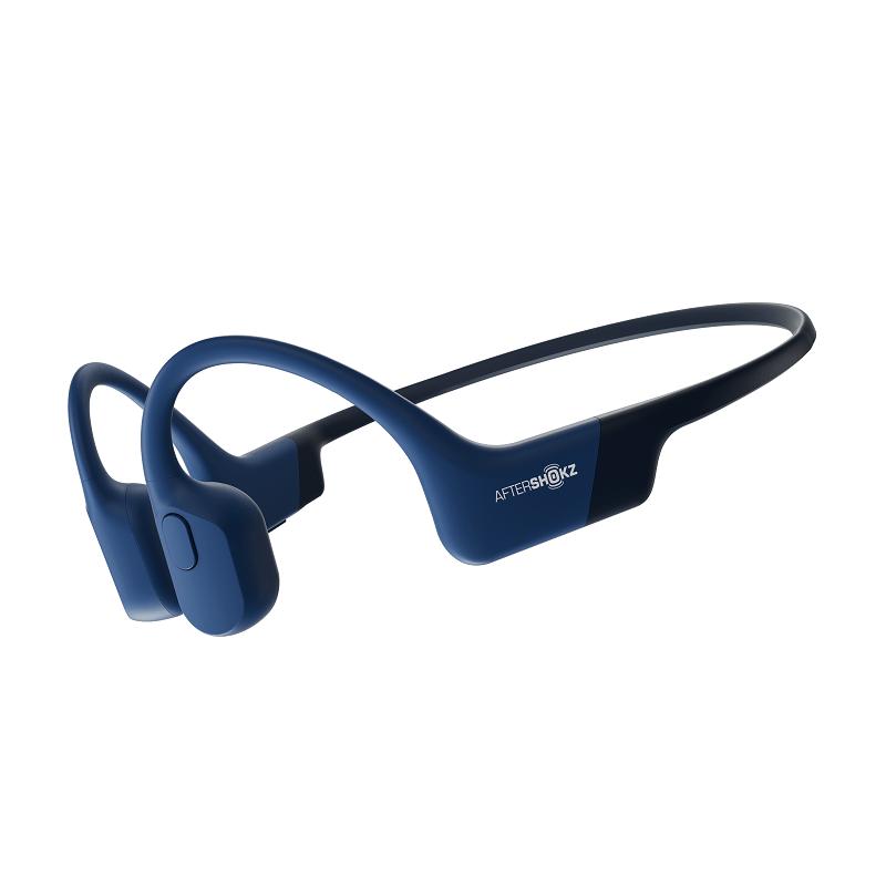 Беспроводные наушники с костной проводимостью звука AfterShokz Aeropex-Blue
