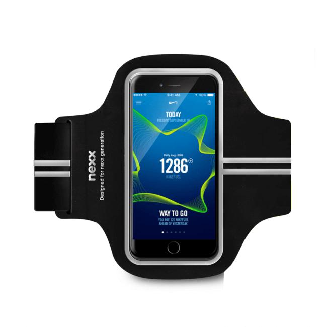"""Наручный чехол Nexx для бега для смартфонов с экраном 5""""-5.5"""" (для iPhone и Android)"""