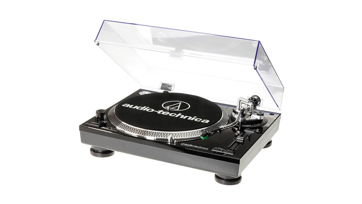 Audio-Technica AT-LP120-USBHC виниловый проигрыватель чёрный