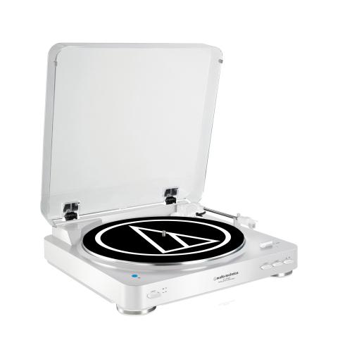 Audio-Technica AT-LP60BT виниловый проигрыватель WHITE
