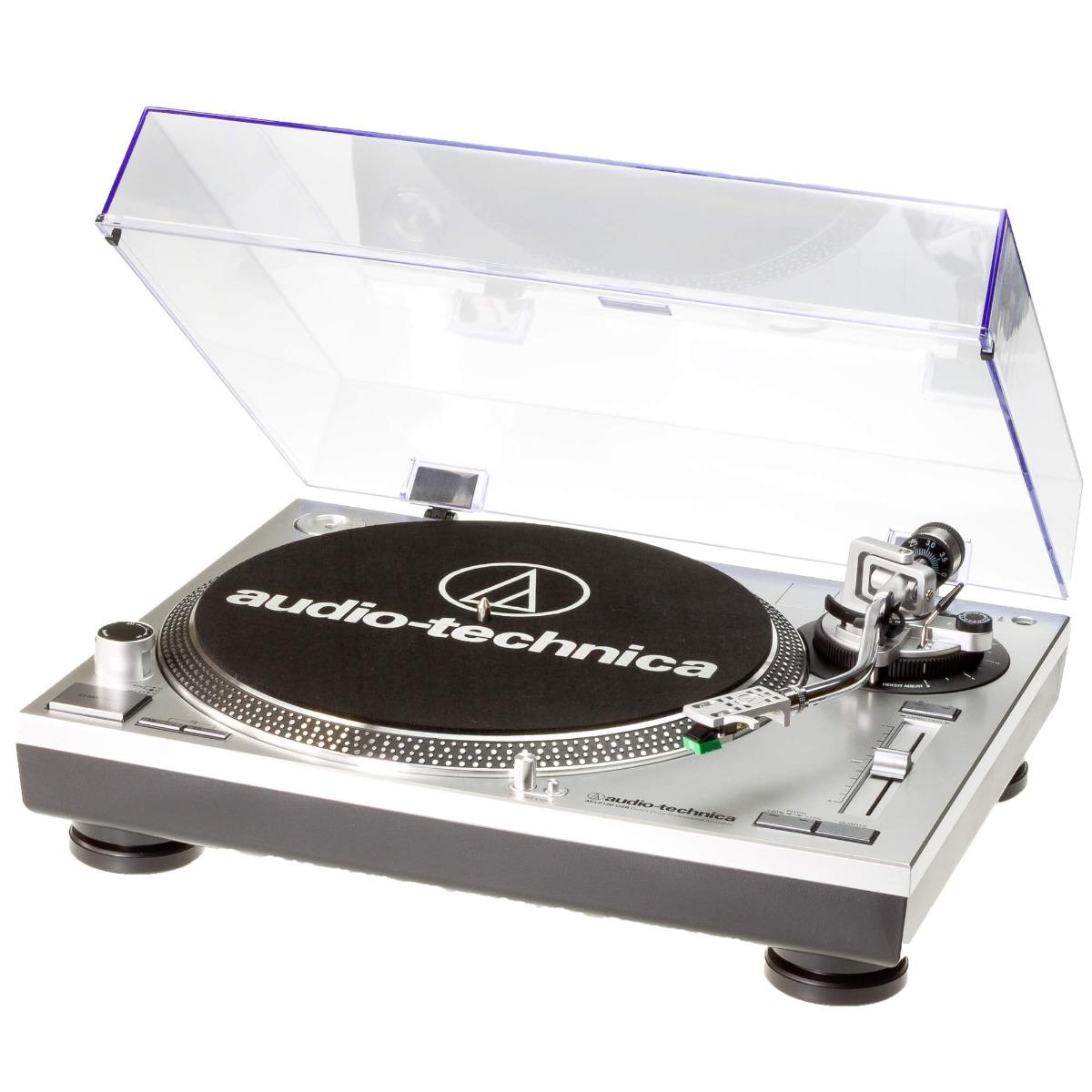 Audio-Technica AT-LP120-USBHC виниловый проигрыватель серый