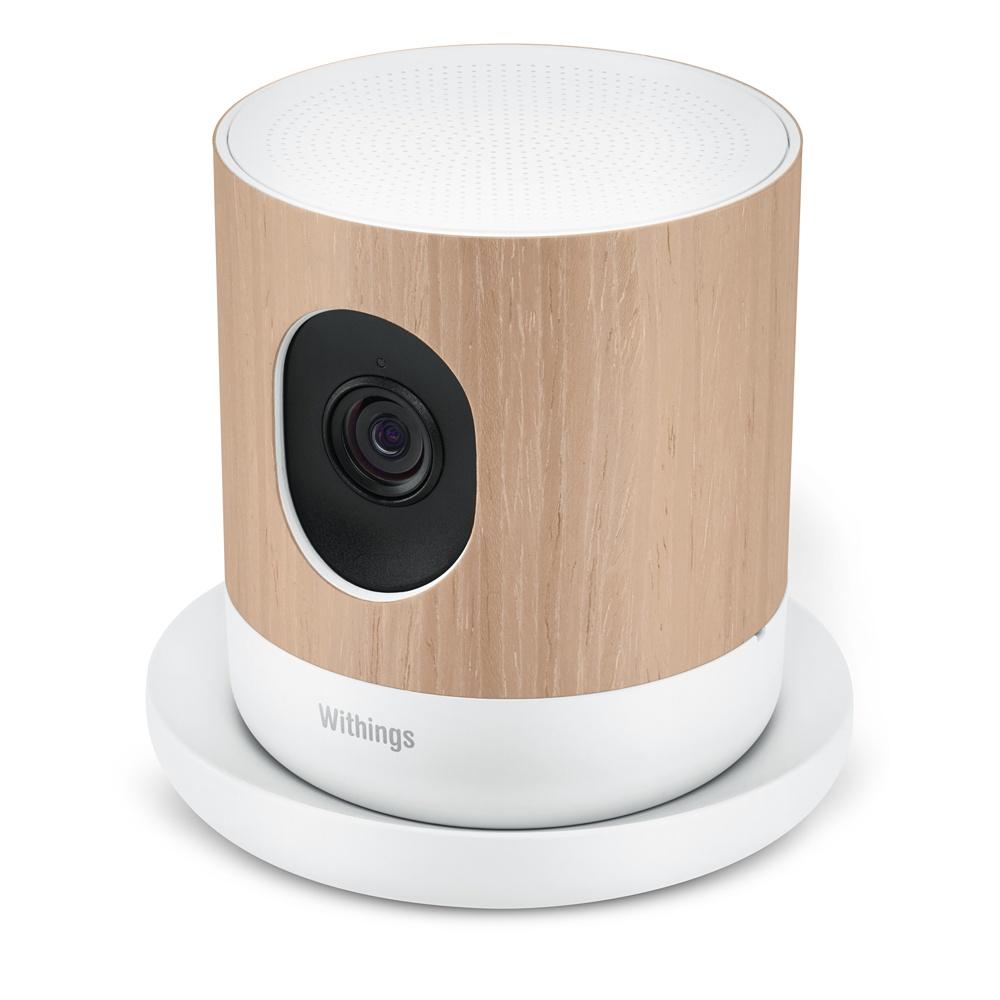 Беспроводная HD-камера Withings Home ведет видеонаблюдение за домом или офисом и контролирует микроклимат в помещении