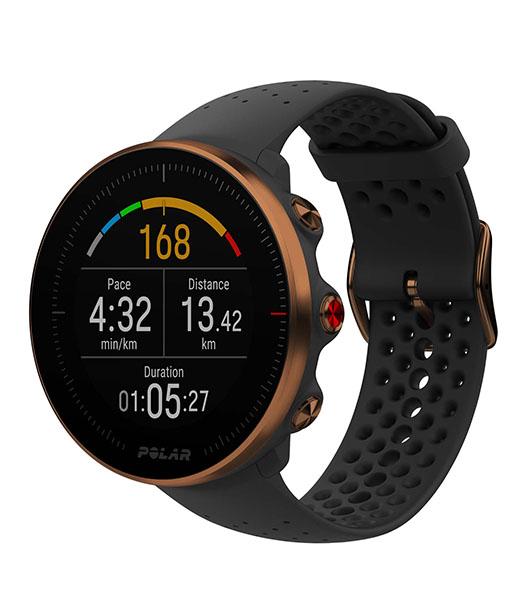 Новые мульти-спортивные GPS-часы с улучшенным измерением пульса Polar Vantage M Black-Copper (M/L)