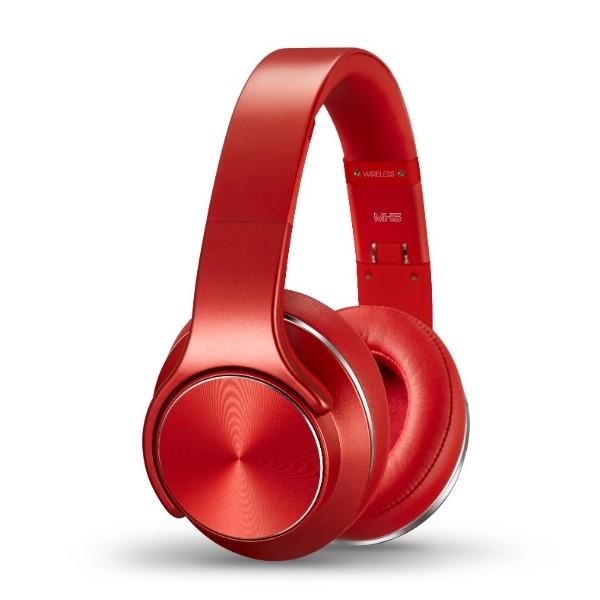 Беспроводные наушники-колонки SODO MH5 Speaker & Headphone 2 в 1 (red)