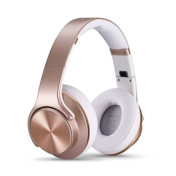 Беспроводные наушники-колонки SODO MH5 Speaker & Headphone 2 в 1 (rose gold)