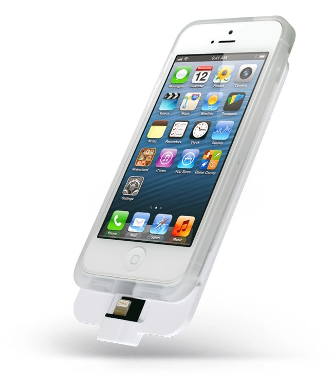 2100 мАч Внешний аккумулятор Elari Appolo 2 для iPhone 5/5S (белый)