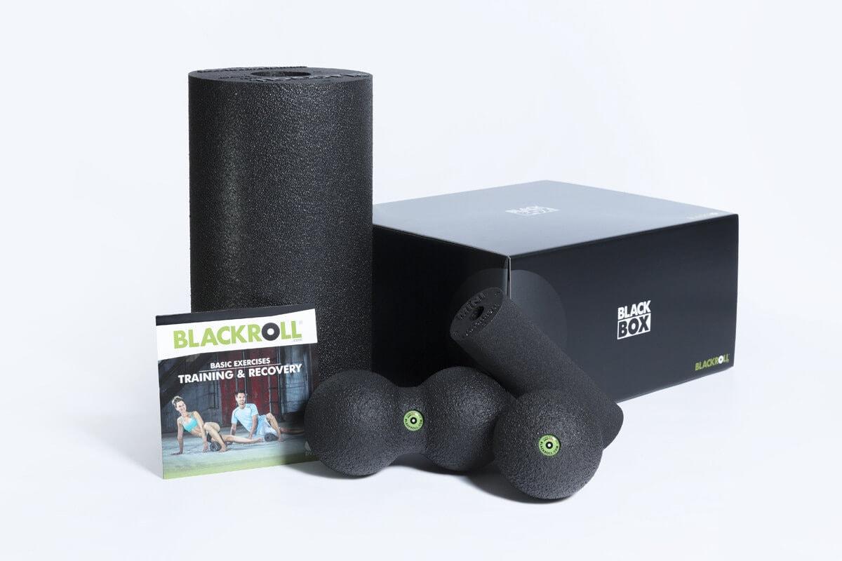 Массажный набор BLACKROLL® BLACKBOX STD