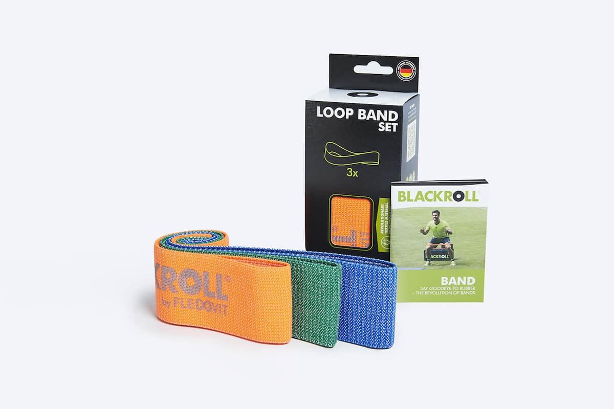 Набор мини-эспандеров BLACKROLL® LOOP BAND, 32 см.