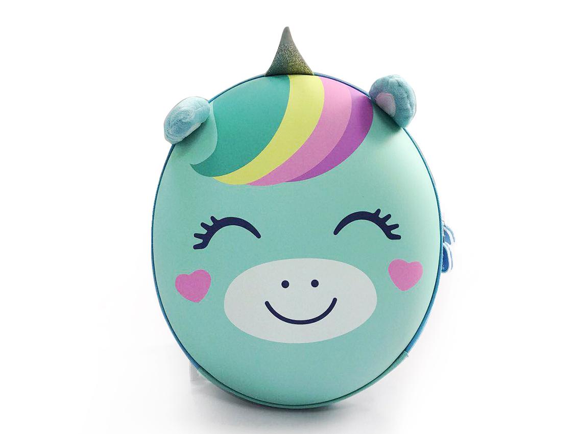 Детский рюкзак Anilove Единорог Юни (мятный)