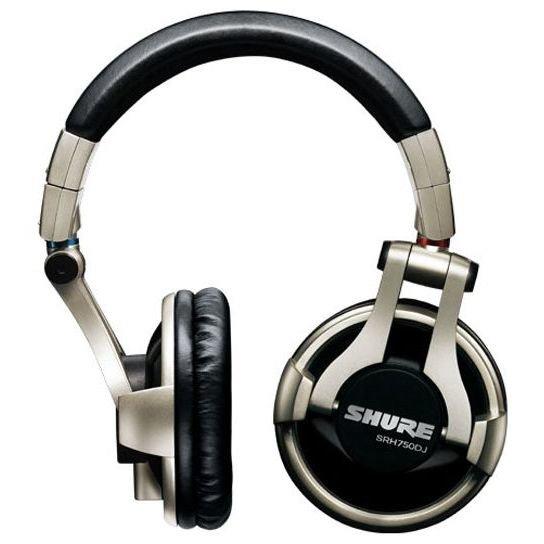 Наушники профессиональные DJ SHURE SRH750DJ-EFS серебристый
