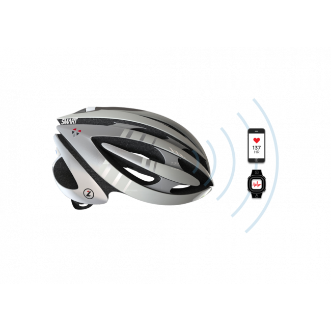 Велосипедный шлем с пульсометром LifeBEAM SMART