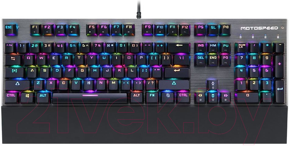 Клавиатура Motospeed CK108 Rainbow