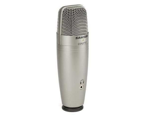 Samson. Студийный конденсаторный суперкардиоидной USB-микрофон C01U Pro