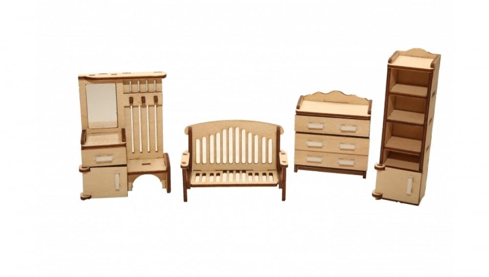 """Набор мебели Хэппикон """"Прихожая"""" из дерева"""