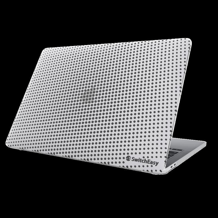 """Защитные накладки SwitchEasy Dots для 2020~2016 (2020, M1/ Intel) MacBook Pro 13"""". Дизайн: Ice."""