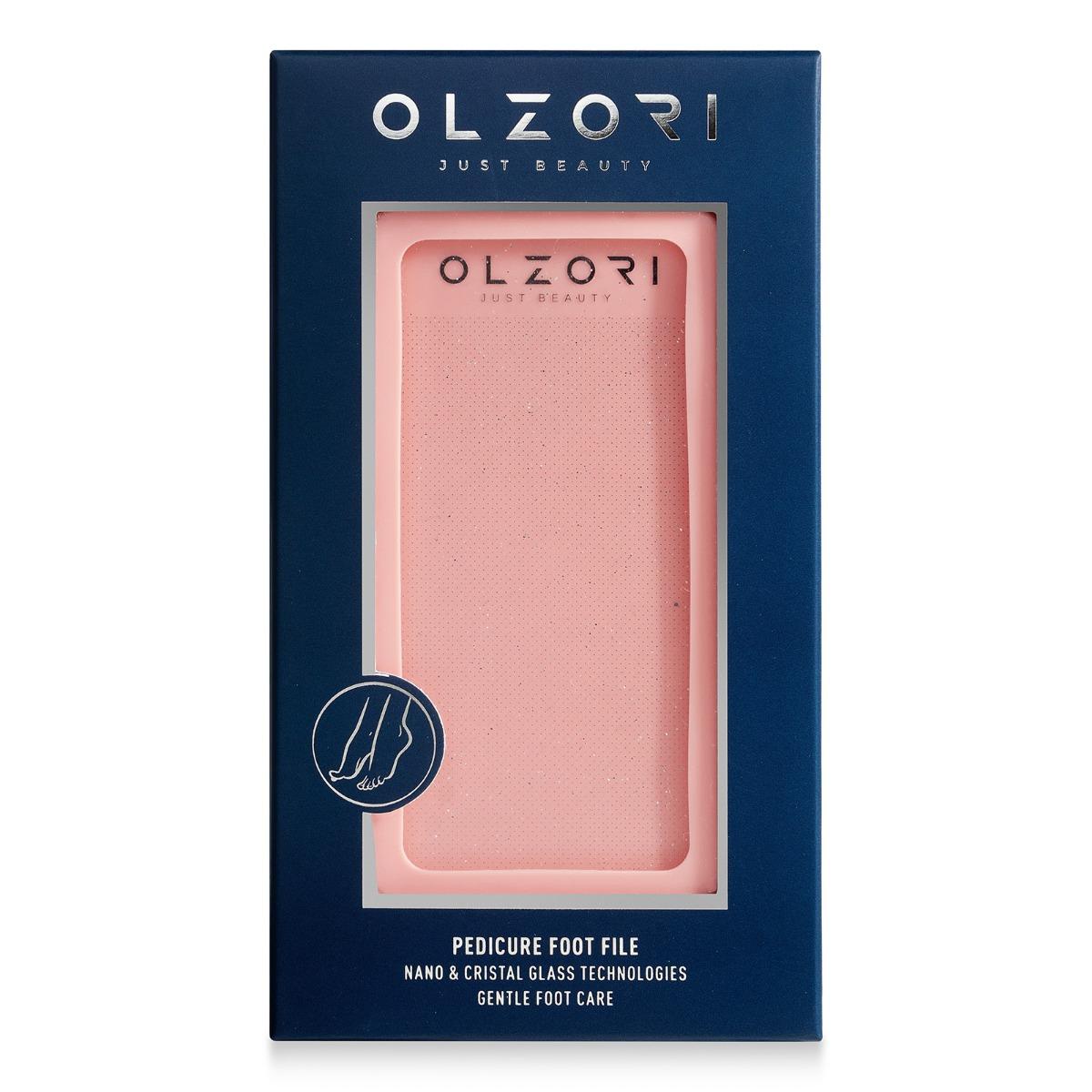 Пилка для педикюра стоп полировочная OLZORI™ VirGo Foot 02